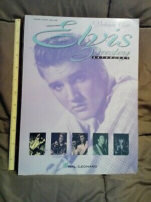 Elvis Presley Anthology Volume 1  By Hal Leonard; Piano, Vocal, Guitar Songbook • 10.94£