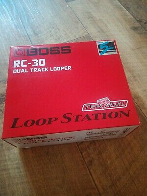 BOSS RC-30 Dual Track Looper. If You Want A Loop Station, This Is The Best!  • 150£