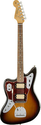 Mint Fender Kurt Cobain Jaguar Left Handed Rosewood Fingerboard 3 Color Sunburst • 2,437.47£