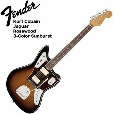 Mint Fender Kurt Cobain Jaguar Nos 3Tsb Electric Guitar • 2,241.72£