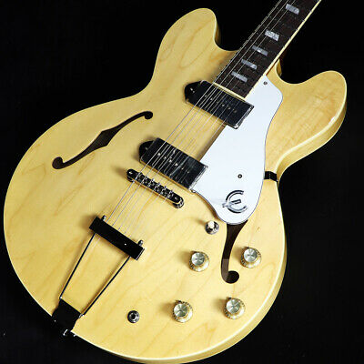 Epiphone Elitist 1965 Casino Natural S N T190873 Shinsaibashi Store • 2,691.47£