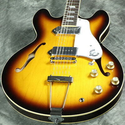 Epiphone Elitist 1965 Casino Vintage Sunburst Electric Guitar Webshop • 2,673.38£