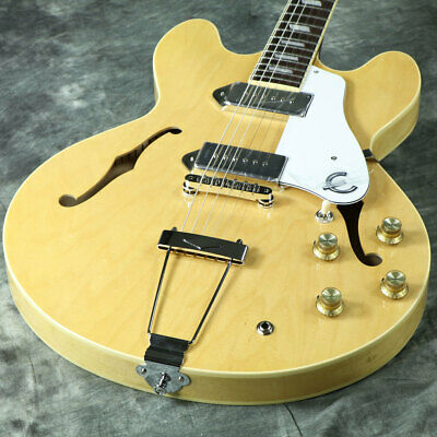 Epiphone Elitist 1965 Casino Natural Electric Guitar Webshop • 2,673.38£