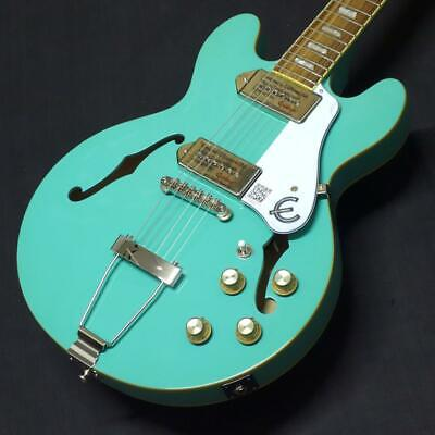 Epiphone Casino Coupe Turquoise 12 Times No Split Fee Up • 779.81£