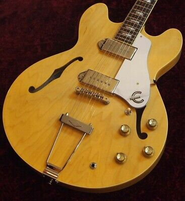 Epiphone Elitist 1965 Casino Natural Sn190833 2 81 Made In Japan G Club Tokyo • 2,437.47£