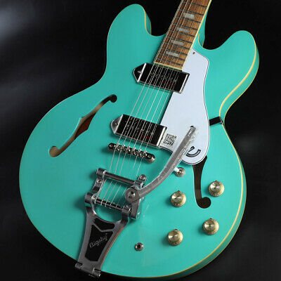 Epiphone Limited Edition Casino With Bigsby Turquoise Yokohama Store • 921.19£