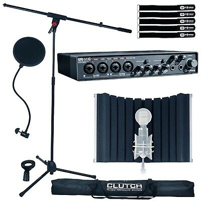 Steinberg UR44C 6 In/ 4 Out USB 3.0 Home Audio Recording Interface W Mic Stand • 330.17£