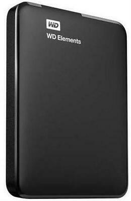 WD Elements 1TB Portable Hard Drive 1TB Capacity Up To 5Gbps Transfer Speed • 70.54£