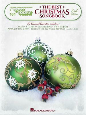 The Best Christmas Songbook – 3rd Edition E-Z Play Today Volume 164 Piano, Keybo