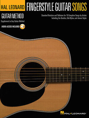 Fingerstyle Guitar Songs Hal Leonard Guitar Method Supplement Guitar  Book With • 11.70£