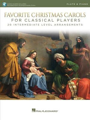 Favorite Christmas Carols for Classical Players With online audio of piano accom