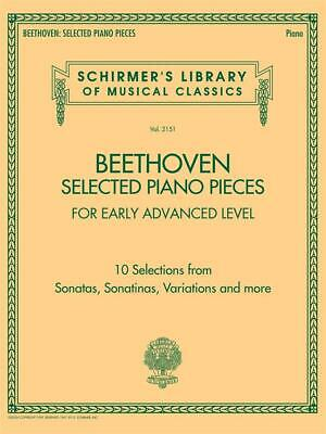 Selected Piano Pieces: Early Advanced 10 Selections from Sonatas, Sonatinas, Var