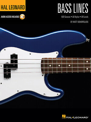 Bass Lines Hal Leonard Bass Method 500 Grooves - All Styles - All Levels Bass Ma