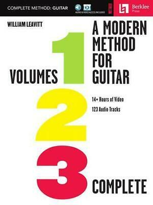A Modern Method for Guitar - Complete Method Volumes 1, 2, and 3 with 14+ Hours