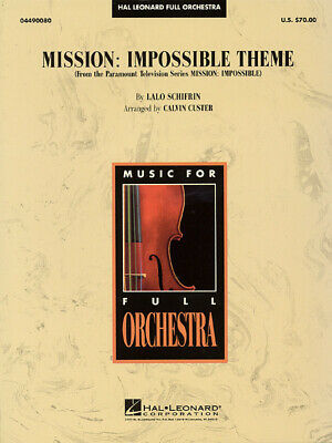 Mission Impossible Theme  Orchestra  Score Only HL04490081 • 7.50£