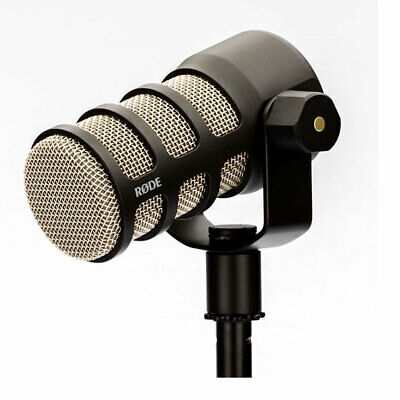 RODE PodMic Podcast-Ready Dynamic Microphone, Internal Pop Shield, Integrated Sw • 110.76£