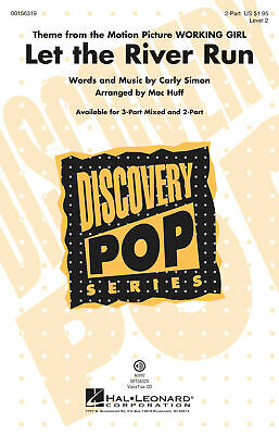 Let the River Run Discovery Level 2 2-Part Choir  Choral Score HL00156319