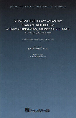 Three Holiday Songs from Home Alone SATB Choir John Williams Choral Score HL0874