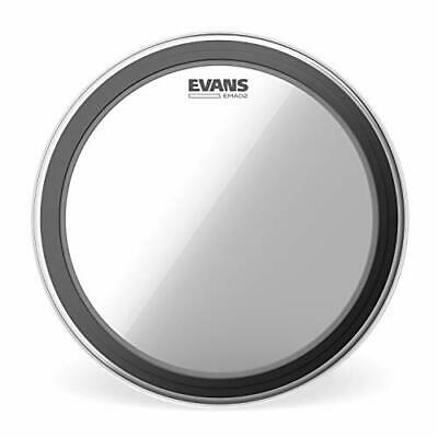 """Evans EMAD2 Clear Bass Drum Head 22"""" – Externally Mounted Adjustable Damping ... • 48.38£"""