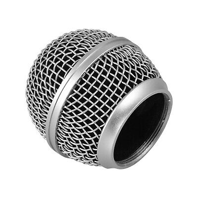 Microphone Grille Replacement Ball Head Compatible With Shure SM58/SM58S V0S9 • 4.12£