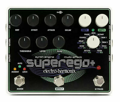 Electro-Harmonix Superego Plus Synth Engine W/ Effects Super Ego + 2 Day Ship • 149.14£