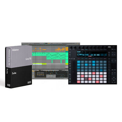 Ableton Push 2 And Live 10 Suite Bundle (NEW) • 947£
