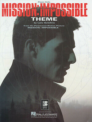 Mission Impossible Theme From Movie For Piano Solo Intermediate Sheet Music • 3.04£