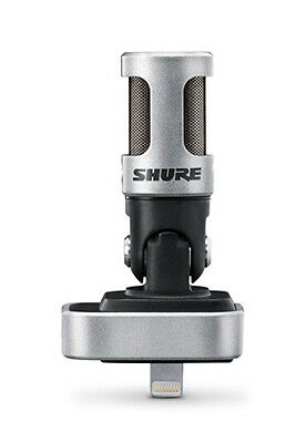 Shure MOTIV MV88 Microphone For Lightning Equipped Apple IOS Devices (NEW) • 135.69£