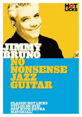 No Nonsense Jazz Guitar Jimmy Bruno Lesson Learn To Play Hot Licks Video DVD • 17.85£