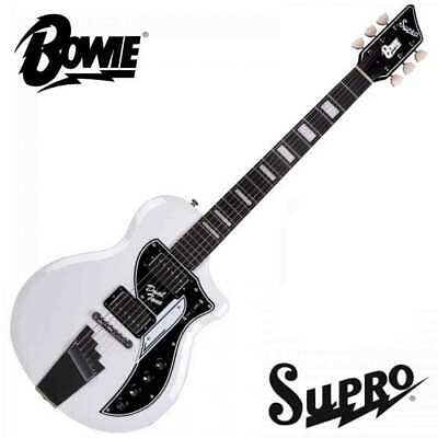 Supro David Bowie 1961 Dual Tone Limited Edition Electric Guitar With Gig Bag • 749£