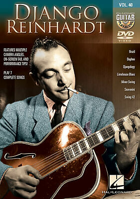 Django Reinhardt Guitar Play-Along DVD Vol 40 Learn To Play Jazz Lessons Video • 12.15£