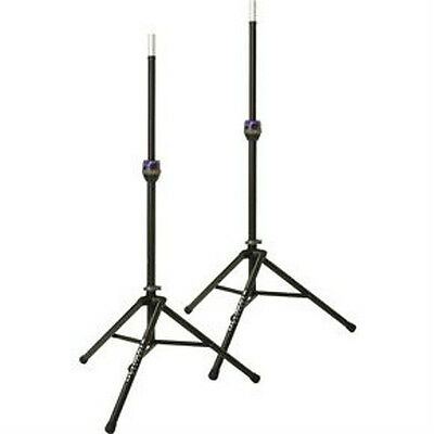 NEW Pair Ultimate Support TS90B Tripod Speaker Stands TS90 Pair! • 171.60£
