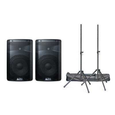 Alto TX210 Active PA Speaker Bundle With Stands And Cables (NEW)  • 269£