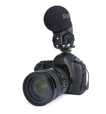 Rode Stereo Videomic Pro Rycote On-Camera Microphone Video Mic  IN BOX • 173.21£