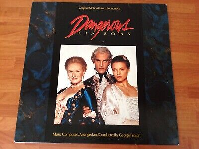 DANGEROUS LIAISONS - 1989 Vinyl 33rpm Original Motion Picture Soundtrack LP • 9.99£