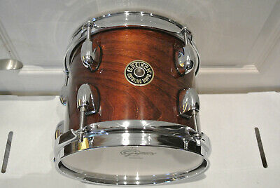 GRETSCH 8  CATALINA MAPLE TOM In WALNUT GLAZE For YOUR DRUM SET! LOT #F853 • 111.88£