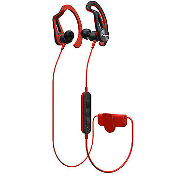Pioneer Bluetooth Sports Earphone Drip-proof Red SE-E7BT-R F/S • 46.33£