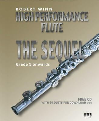 High Performance Flute - The Sequel  Flute and Piano Robert Winn Book with CD AM
