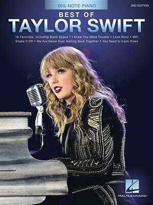 Best of Taylor Swift - 2nd Edition  Piano  Book Only HL00339619