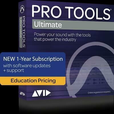 Pro Tools Ultimate  Annual Subscription  Educational Edition - Digital Download • 232.08£
