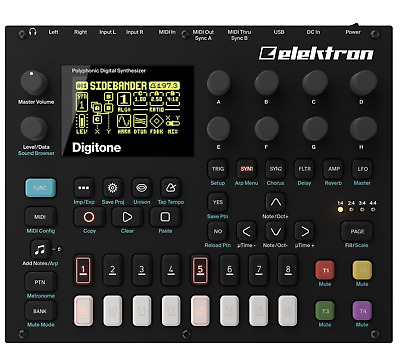 Elektron Digitone Eight Voice Polyphonic Digital Synthesizer (DTN1) • 650£