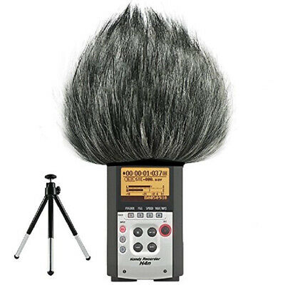 For ZOOM H4N H2N Microphone Outdoor Faux Fur Cover Microphone Windshield • 7.79£