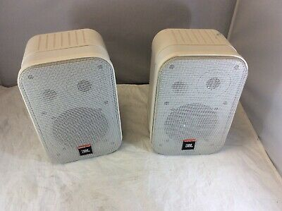 PAIR JBL Control 1 Pro 150W Two-Way Commercial Professional Compact Speakers • 98.75£