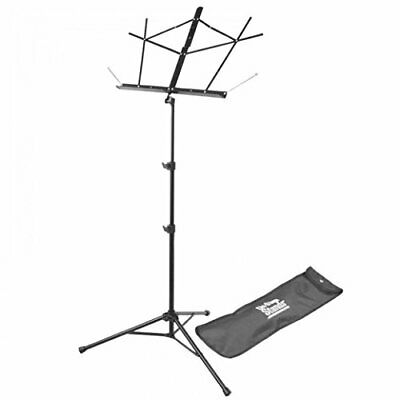 On-Stage SM7122BB Compact Folding Sheet Music Stand With Bag, Black • 10.82£