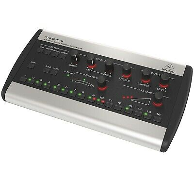 Behringer Powerplay P16-M 16-Channel Digital Personal Monitor Mixer • 212.08£