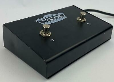 Vox VFS2A Dual Guitar Footswitch - TESTED & WORKING • 21.50£