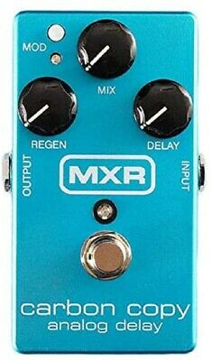 MXR Guitar Pedal M169IK Analog Delay Ikebe 45th Anniversary Carbon Copy NEW • 193.68£