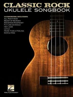 Classic Rock Ukulele Songbook By Hal Leonard Corp (other) • 11.39£