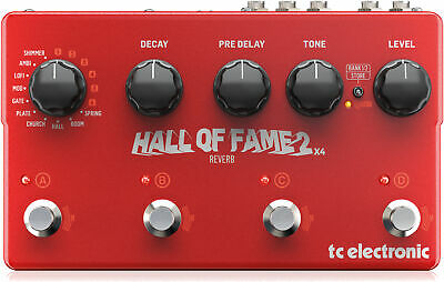 Tc Electronic Hall Of Fame 2 X4 Reverb Guitar Pedal TC223 • 272£