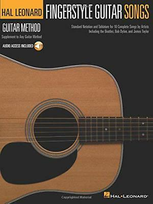 Hal Leonard Guitar Method: Fingerstyle Guitar Songs (Hal Leonard Guitar Method ( • 11.14£